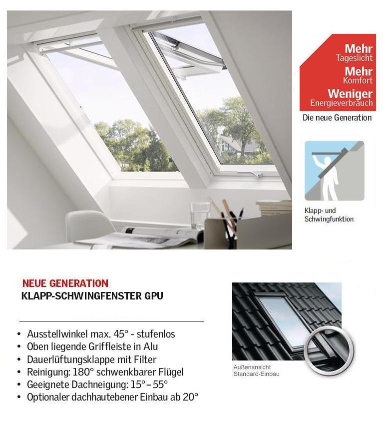 velux gpu mk08 0062 78x140 cm standard pakete dachmax dachfenster shop velux fakro roto. Black Bedroom Furniture Sets. Home Design Ideas