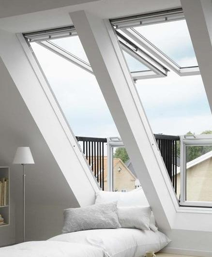 velux cabrio duo 2x gdl sk19 2066 114x252 cm weiss lackiert dachmax dachfenster shop velux fakro. Black Bedroom Furniture Sets. Home Design Ideas