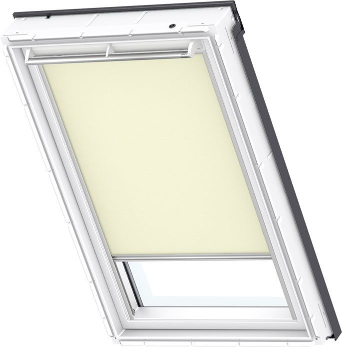 velux sichtschutzrollo standard rfl 1086 beige uni dachmax dachfenster shop velux fakro roto. Black Bedroom Furniture Sets. Home Design Ideas