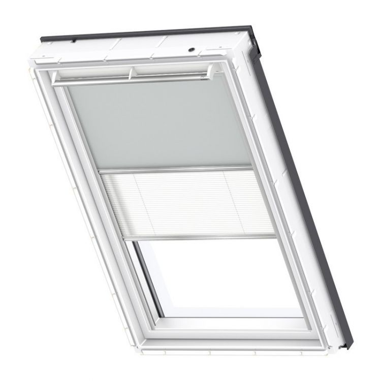 velux rollo plissee duo system dfd 1705 premium dachmax dachfenster shop velux fakro roto. Black Bedroom Furniture Sets. Home Design Ideas