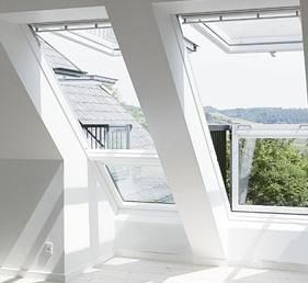 velux cabrio duo 2x gdl pk19 2066 94x252 cm weiss lackiert. Black Bedroom Furniture Sets. Home Design Ideas