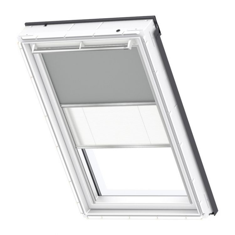 velux rollo plissee duo system dfd 0705 premium dachmax dachfenster shop velux fakro roto. Black Bedroom Furniture Sets. Home Design Ideas