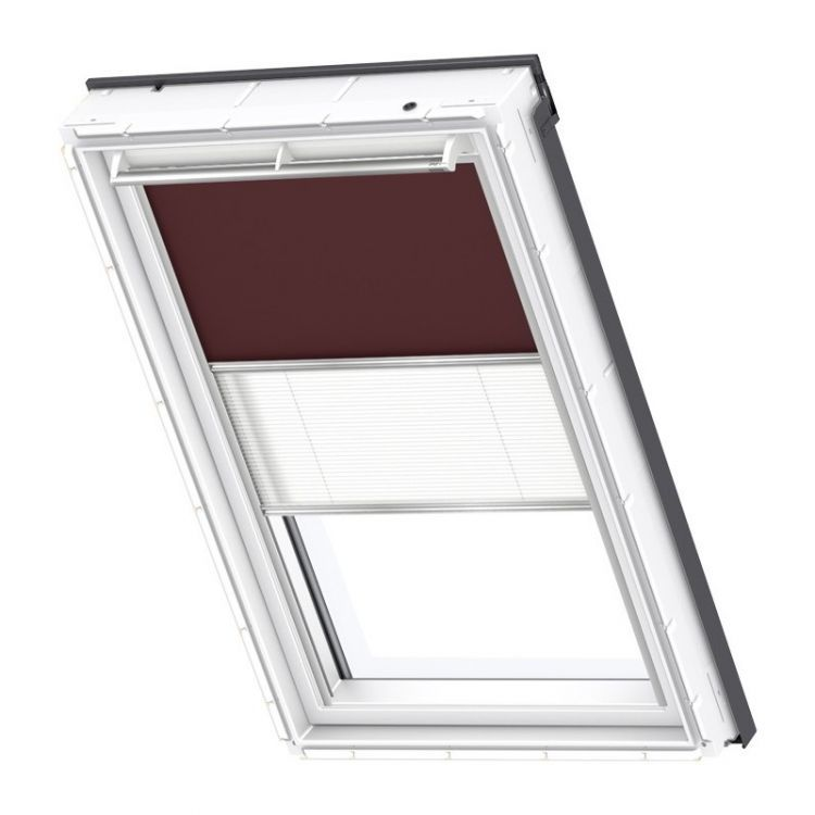 velux rollo plissee duo system dfd 4559s premium dachmax dachfenster shop velux fakro roto. Black Bedroom Furniture Sets. Home Design Ideas
