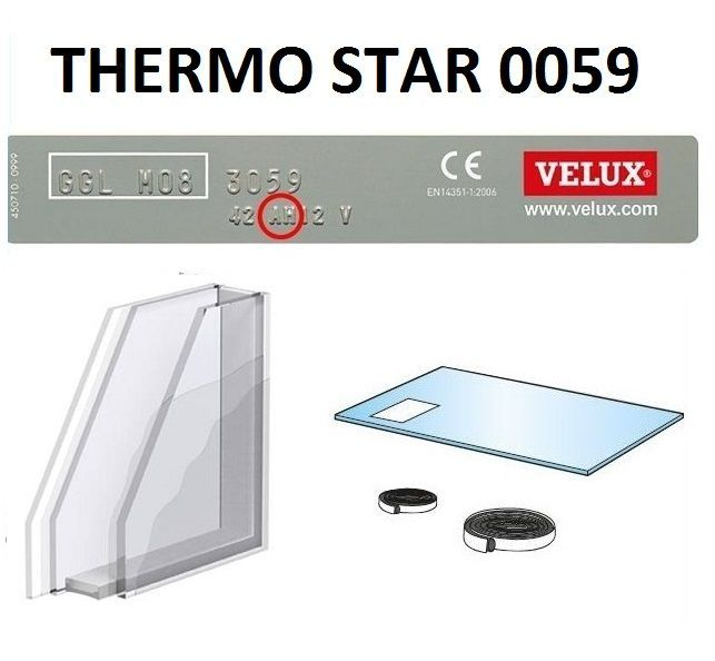 doppelverglasung f r velux dachfenster v21 2000 2004 dachmax dachfenster shop velux fakro roto. Black Bedroom Furniture Sets. Home Design Ideas