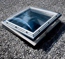 Velux flachdach fenster lichtkuppel cvp s01e 60x60cm for Fenster 60x90