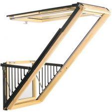 velux cabrio gdl pk19 3066 94x252 cm energy star. Black Bedroom Furniture Sets. Home Design Ideas