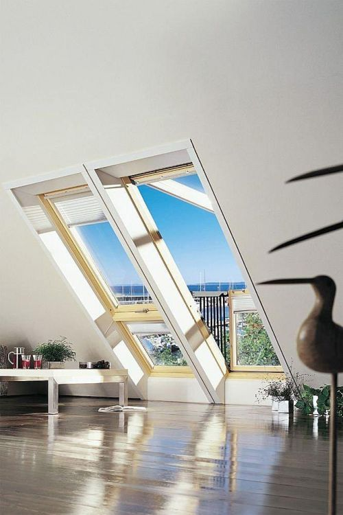 Velux cabrio gdl pk19 3066 94x252 cm energy star for Velux finestre balcone