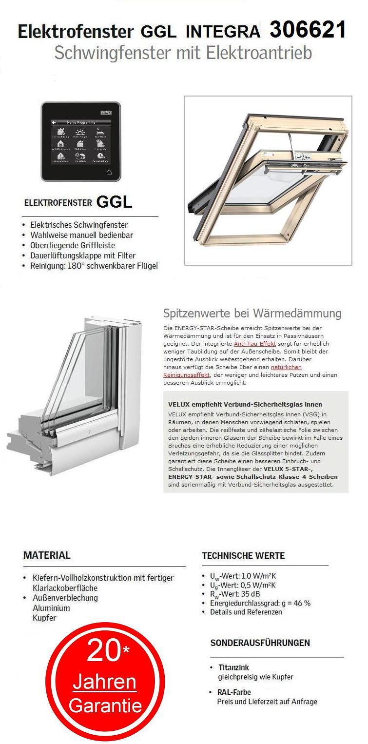 velux integra ggl sk06 306621 114x118 cm standard pakete dachmax dachfenster shop velux fakro. Black Bedroom Furniture Sets. Home Design Ideas