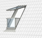 Cabrio DachMax dachfenster shop velux fakro roto kunststoff holz weiss lackiert GGU GGL GPU GPL ...