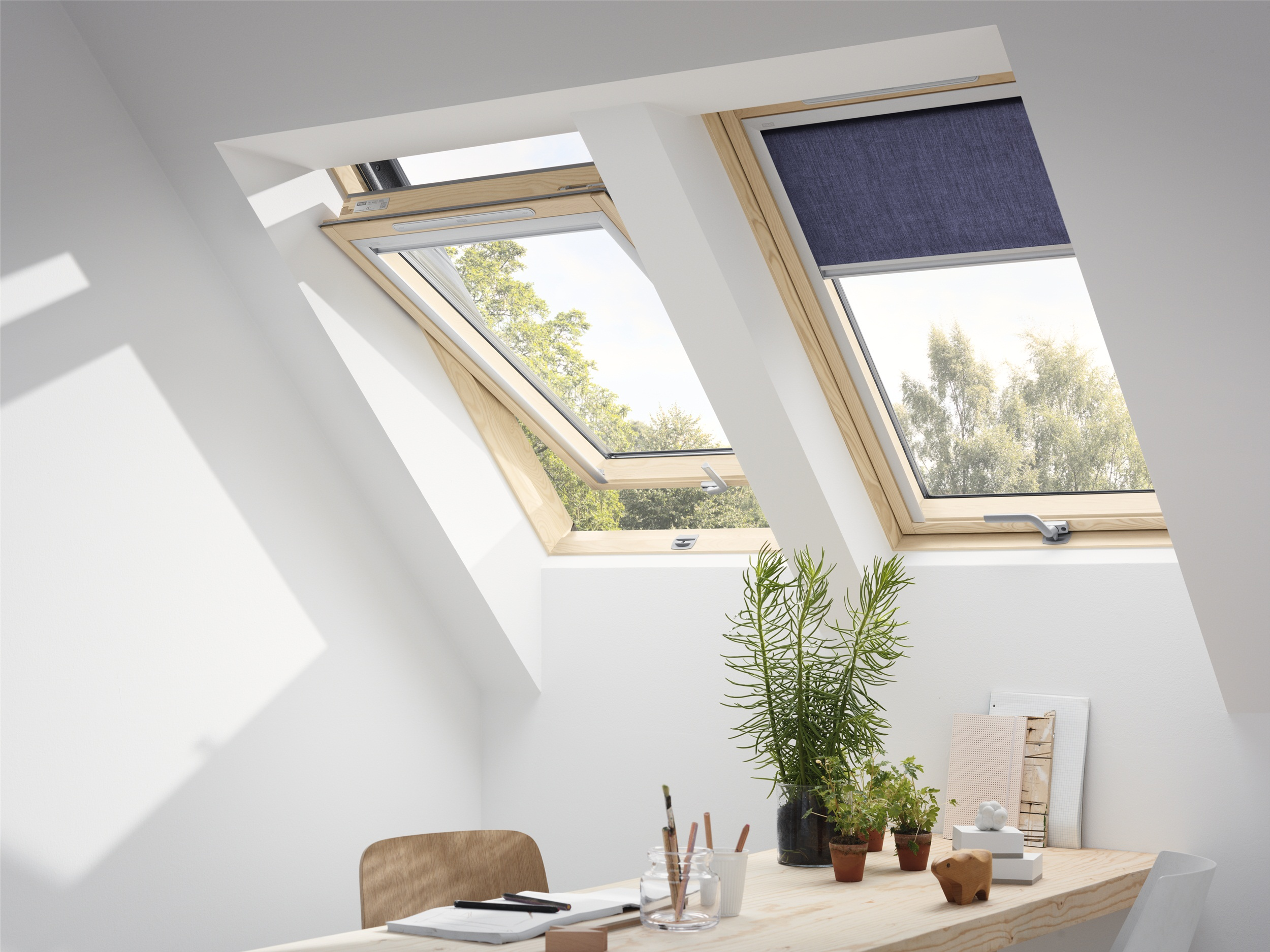 velux dachfenster aus holz gzl 1051b
