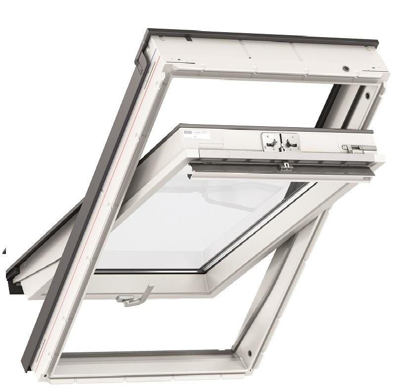 schwingfenster velux kunststoff Manuelle Bedienung (mit Untenbedienung-Türgriff