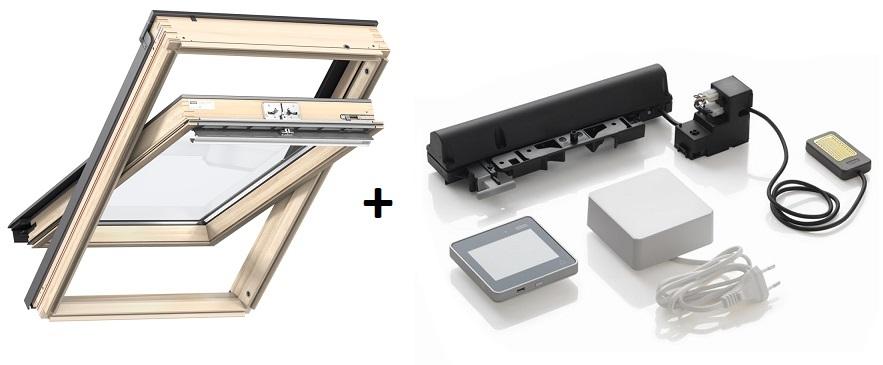 velux 3-fach-verglasung gll ggl dachfenster aus holz energie integra elektrofenster