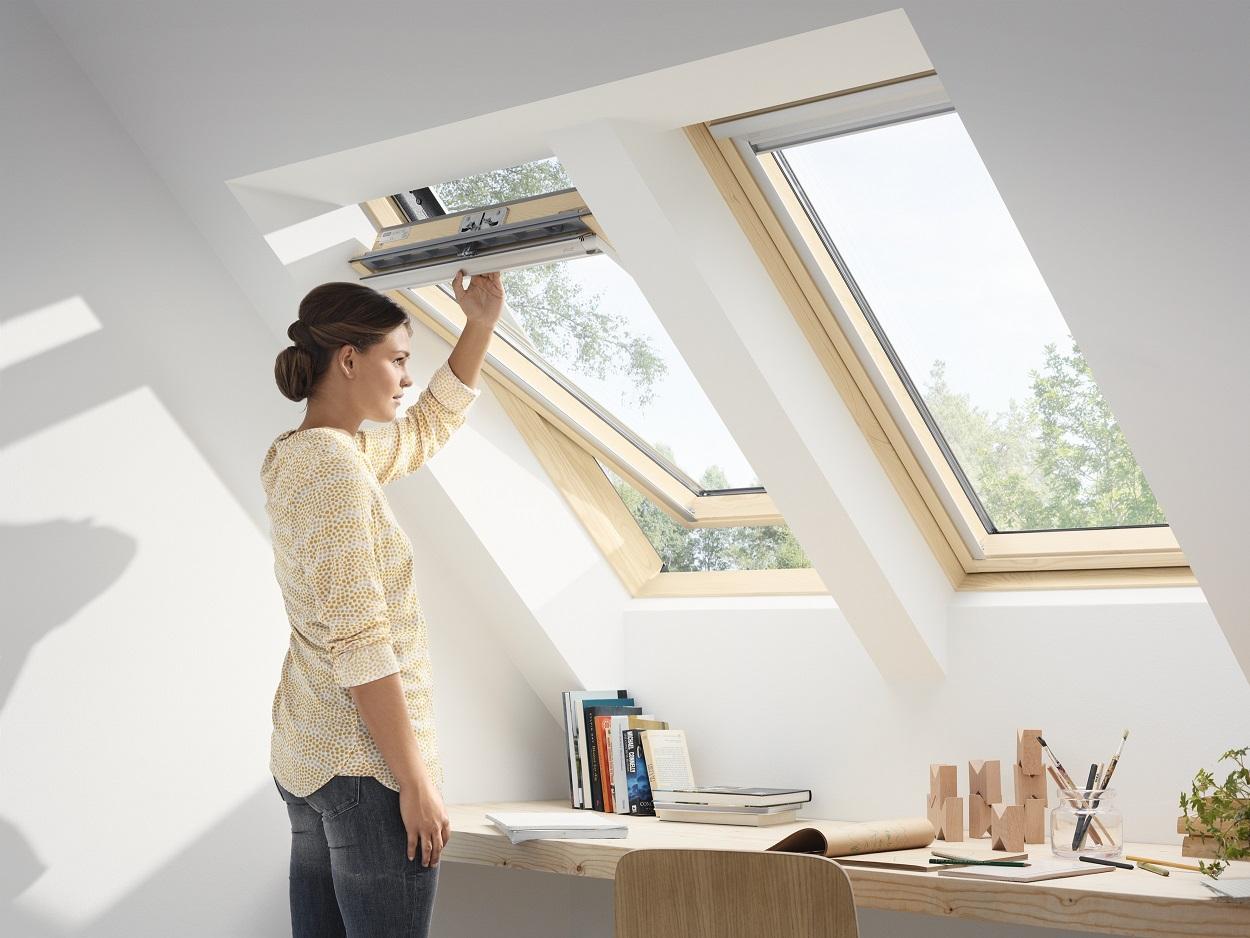 velux dachfenster aus holz gzl 1051