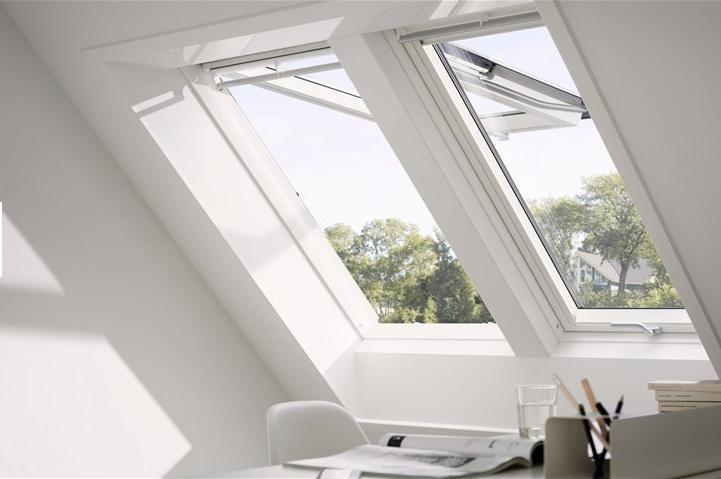 Dachfenster velux gpu 0066 energie klapp schwing fenster aus kunststoff dachmax dachfenster shop - Fenster uw wert ...