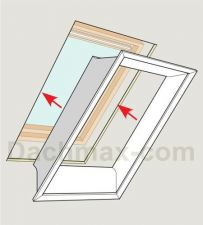 velux innenfutter lsb neu dachmax dachfenster shop velux fakro roto kunststoff holz weiss. Black Bedroom Furniture Sets. Home Design Ideas