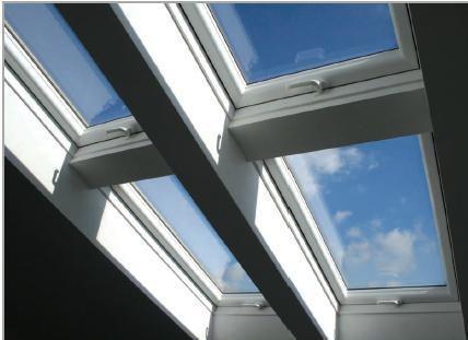 Skylight premium 66x118 cm 6 11 dachmax dachfenster shop velux fakro roto kunststoff holz weiss - Dachfenster skylight ...