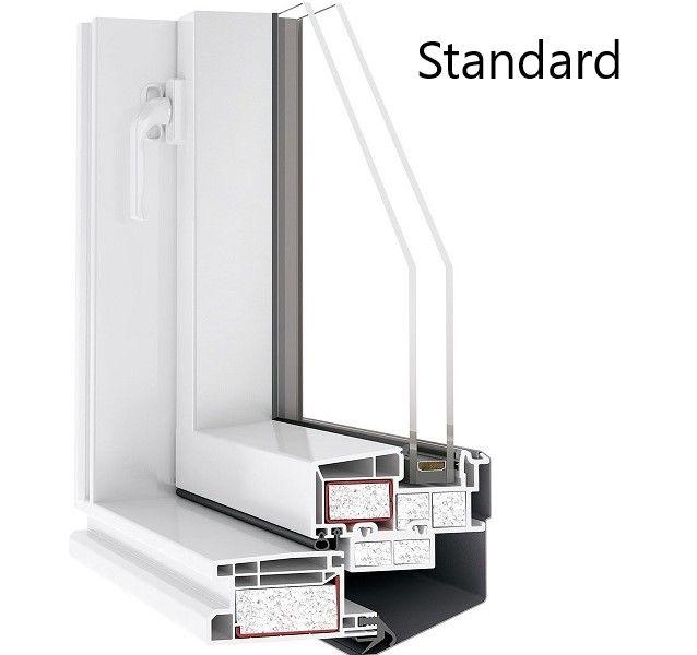 Skylight Loft mit Eindeckrahmen STANDARD 45x73 Links