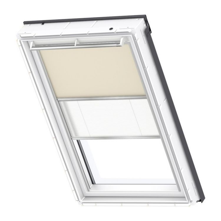 velux rollo plissee duo system dfd 4556s premium dachmax dachfenster shop velux fakro roto. Black Bedroom Furniture Sets. Home Design Ideas