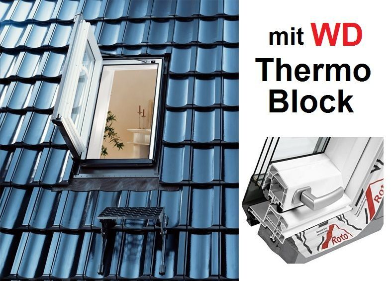 roto ausstiegsfenster wda designo r35 k wd 54x98 dachmax. Black Bedroom Furniture Sets. Home Design Ideas