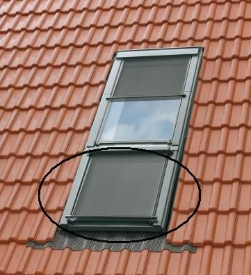 Turbo Velux Hitzeschutz-Markise MAG SK34 5060 DachMax dachfenster shop PJ95