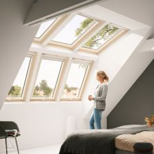 Velux Lichtlösung PANORAMA Drilling SB0W3BK2  MK06 GPL+ GGL Holz Thermo