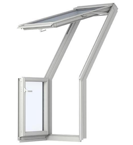 velux gel m08 veb m35 2065 dachbalkon weiss lackiert dachmax dachfenster shop velux fakro roto. Black Bedroom Furniture Sets. Home Design Ideas